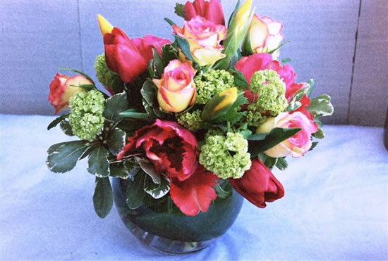 Wedding Reception Flower Centerpieces